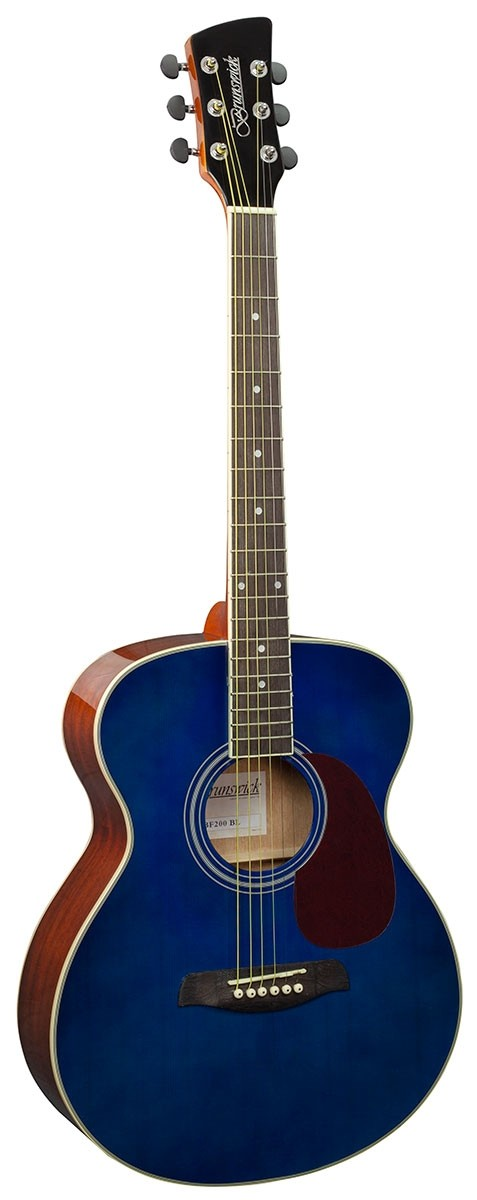 Beginners Acoustic Guitar Blue