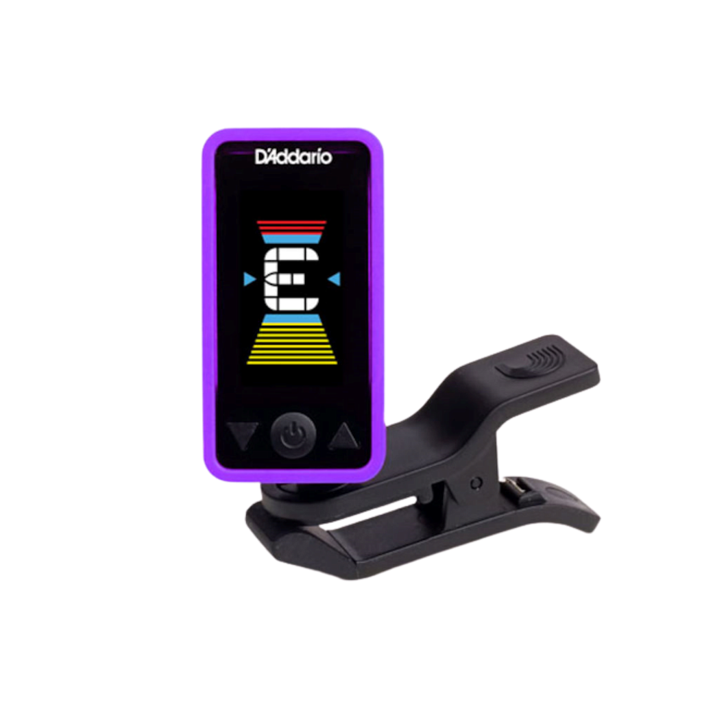 D'Addario Eclipse Headstock Tuner, Purple PW-CT-17PR