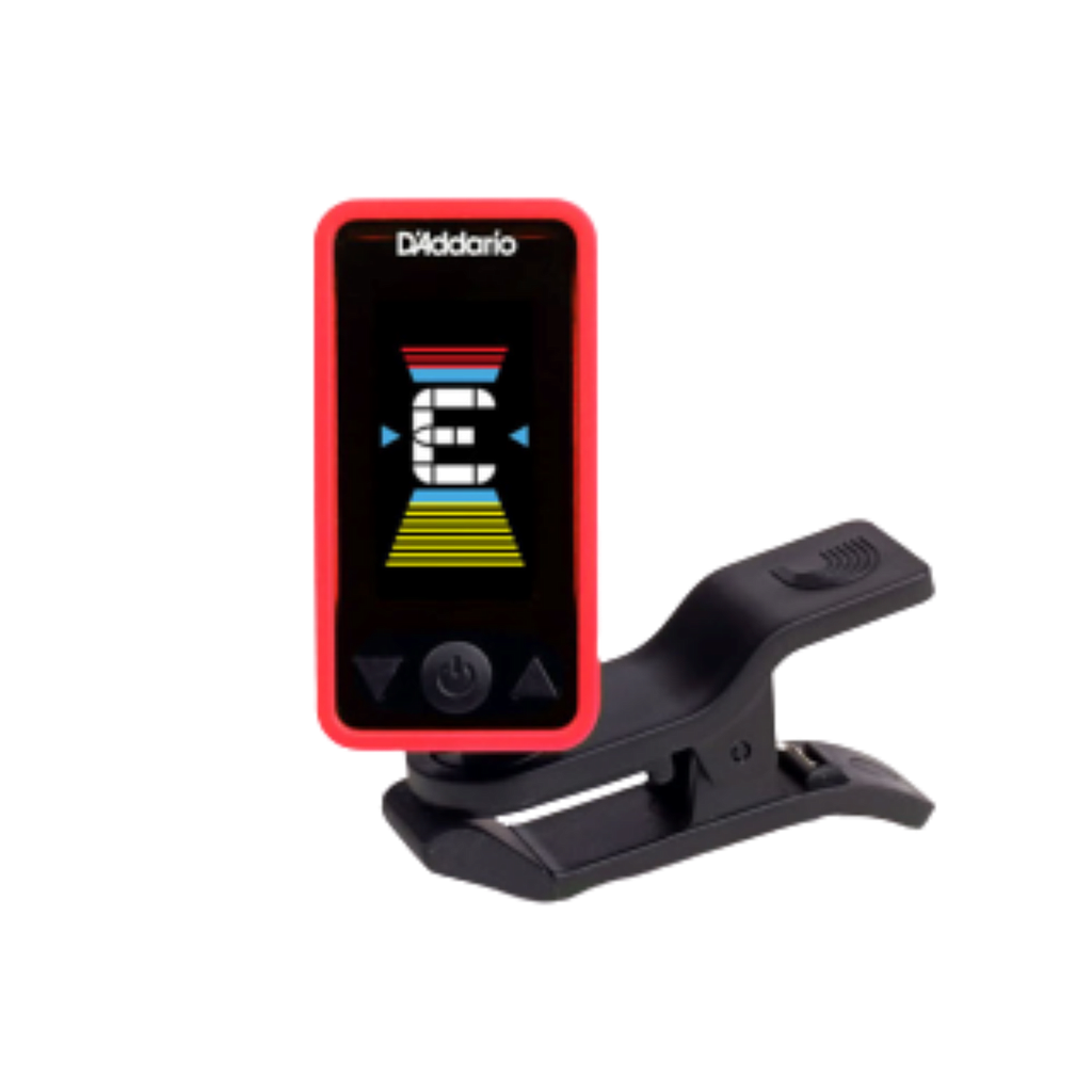 D'Addario Eclipse Headstock Tuner, Red PW-CT-17RD