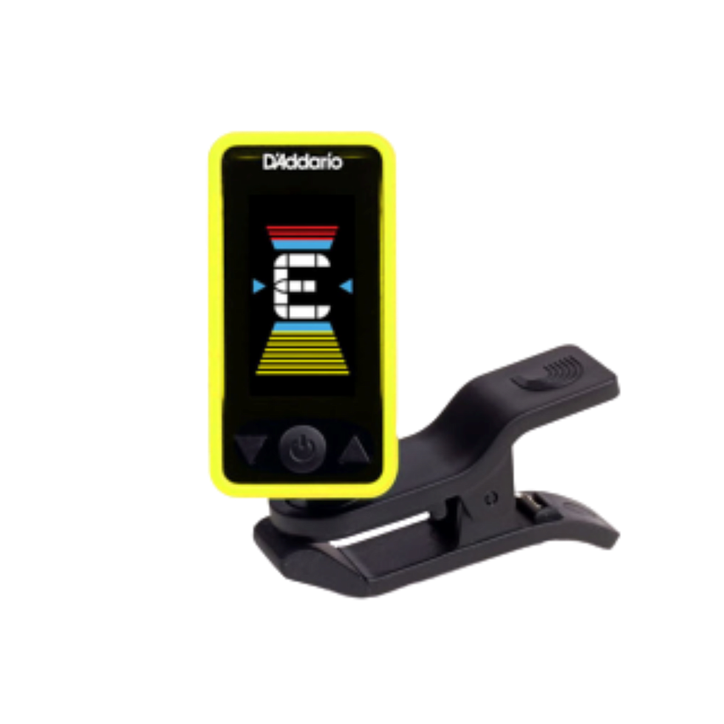 D'Addario Eclipse Headstock Tuner, Yellow PW-CT-17YL
